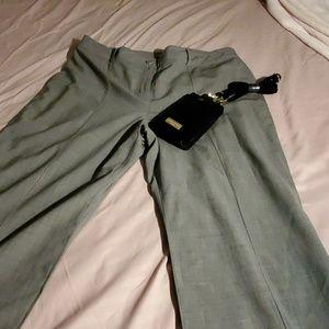 Ann Taylor heathered gray  slacks size 16.
